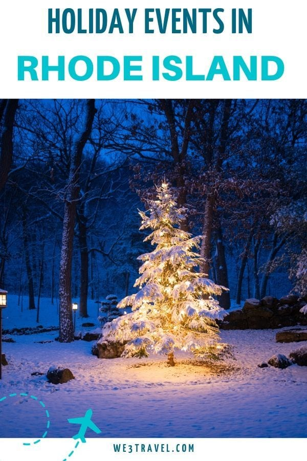 Holiday events in Rhode Island