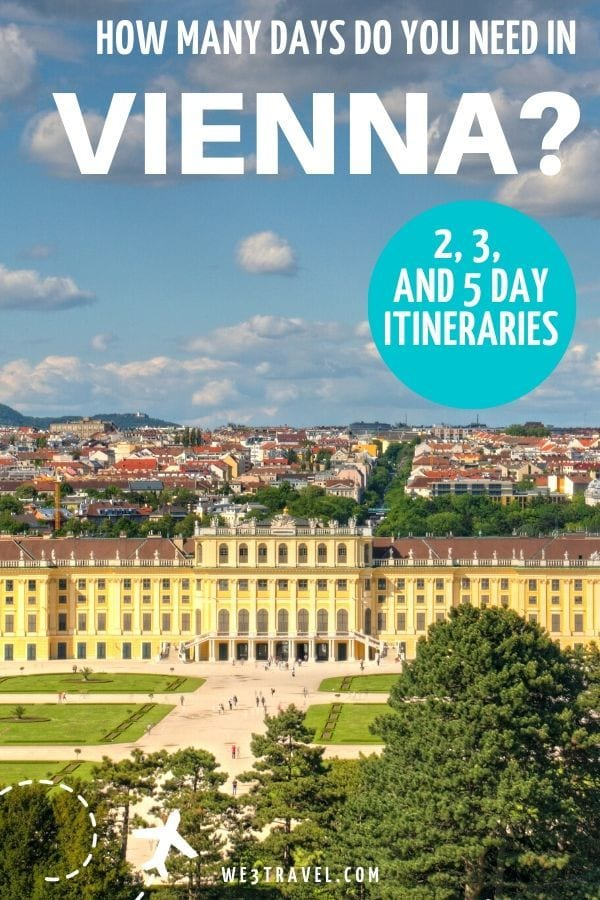 How many days do you need in Vienna?