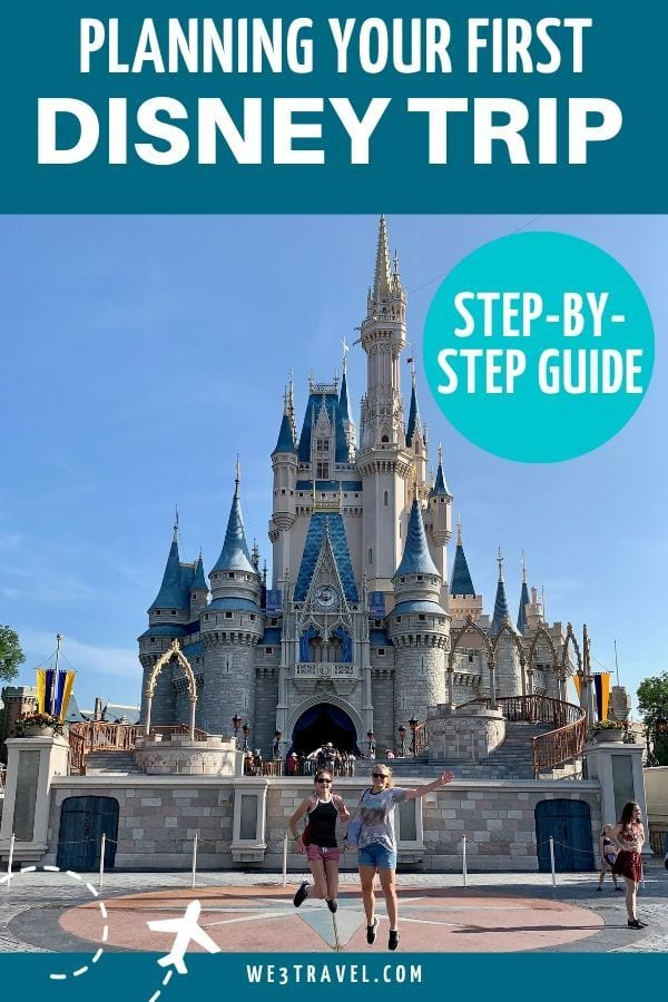 Planning your first trip to Disney World - Magic Kingdom castle