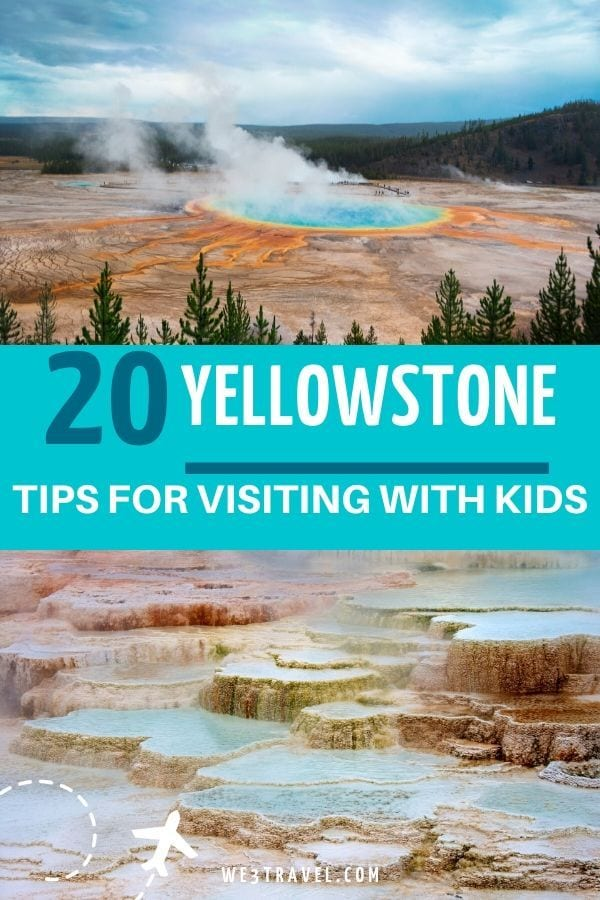 20 Tips for visiting Yellowstone with kids