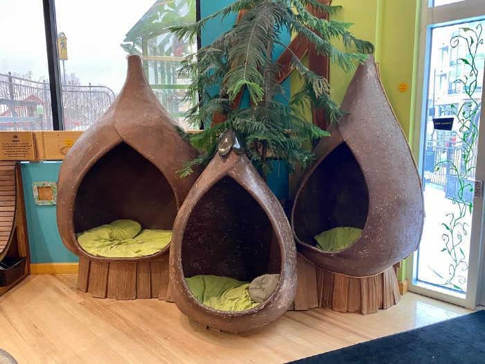 Madison Children's Museum wildernest pods