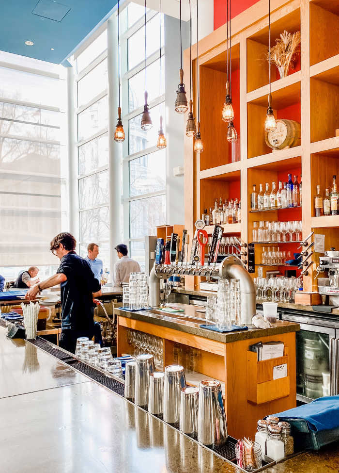 Bar at Graze in Madison