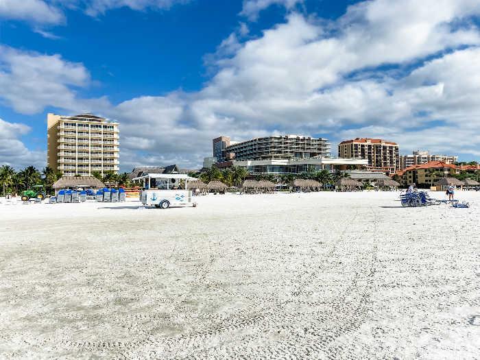 JW Marriott Marco Island beach and beach bar
