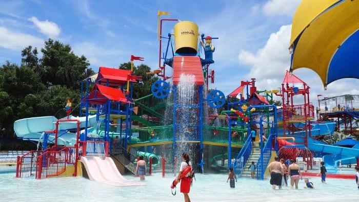 LEGOLAND water park play area