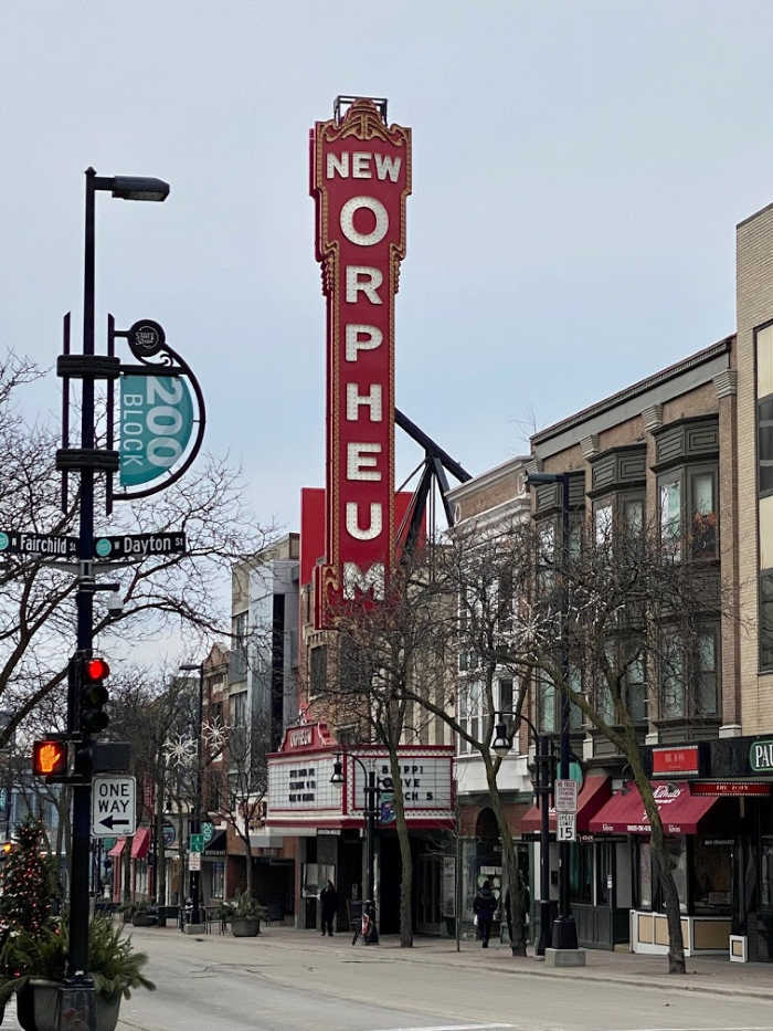 New Orpheum theater in Madison Wisconsin