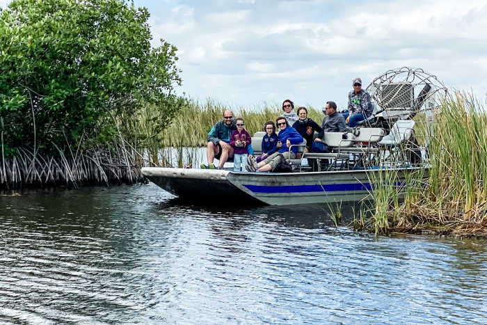Wootens airboat tour