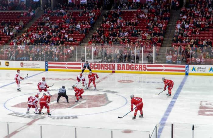 Wisconsin Badgers men's ice hockey game