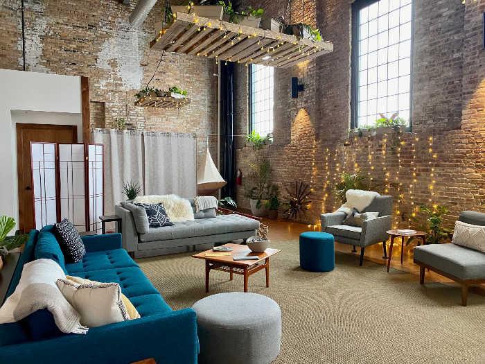 Kosa Spa relaxation room