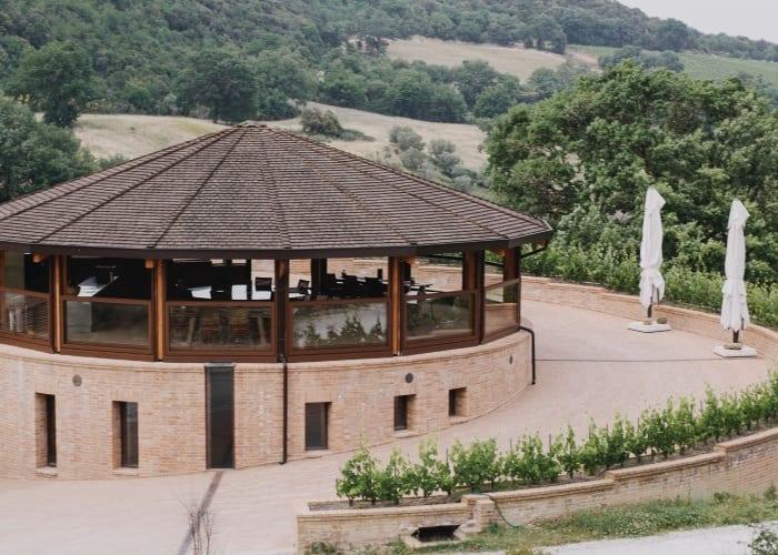 Podere Le Ripi wine cellar