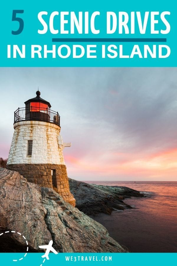 5 Scenic drives in Rhode Island