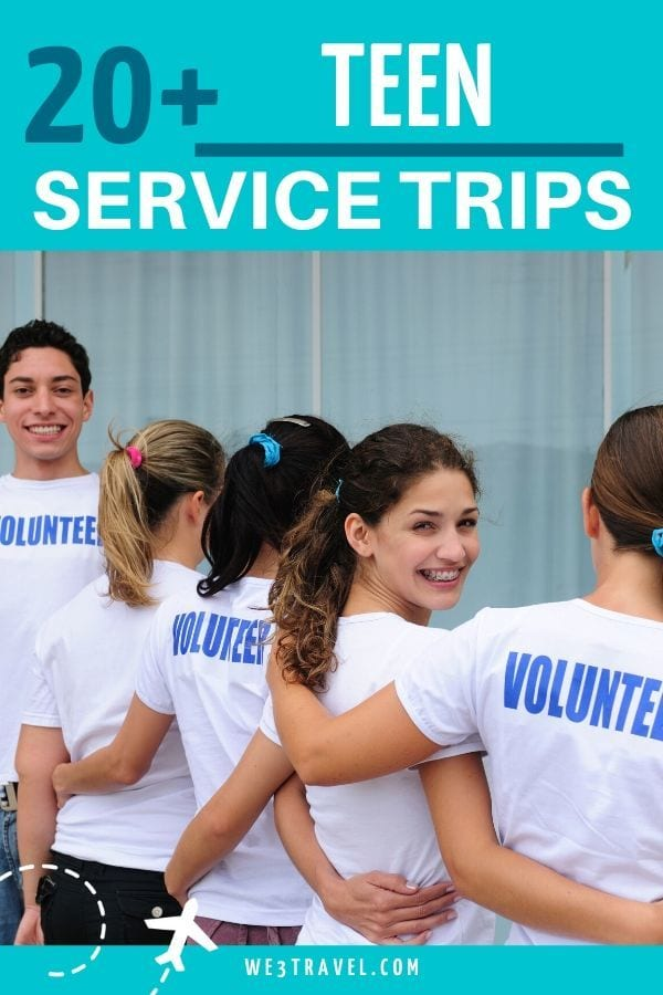 Service trips for teens
