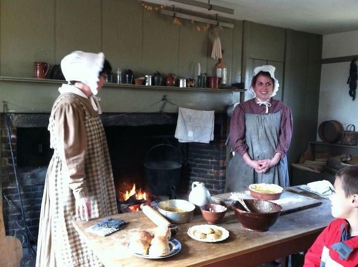 Baking at Old Sturbridge Village