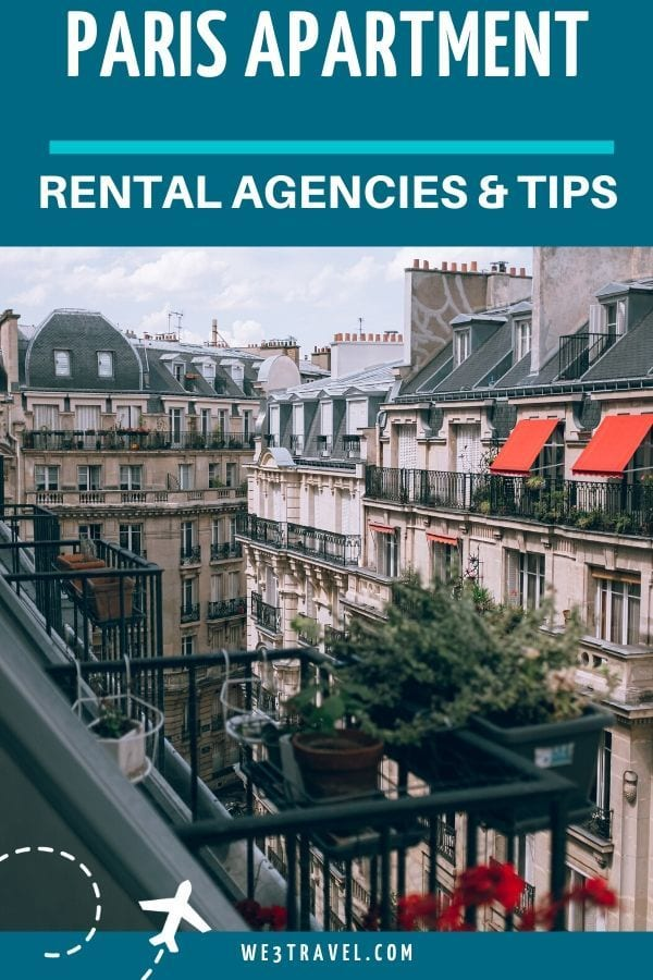 Paris apartment rental agencies and tips