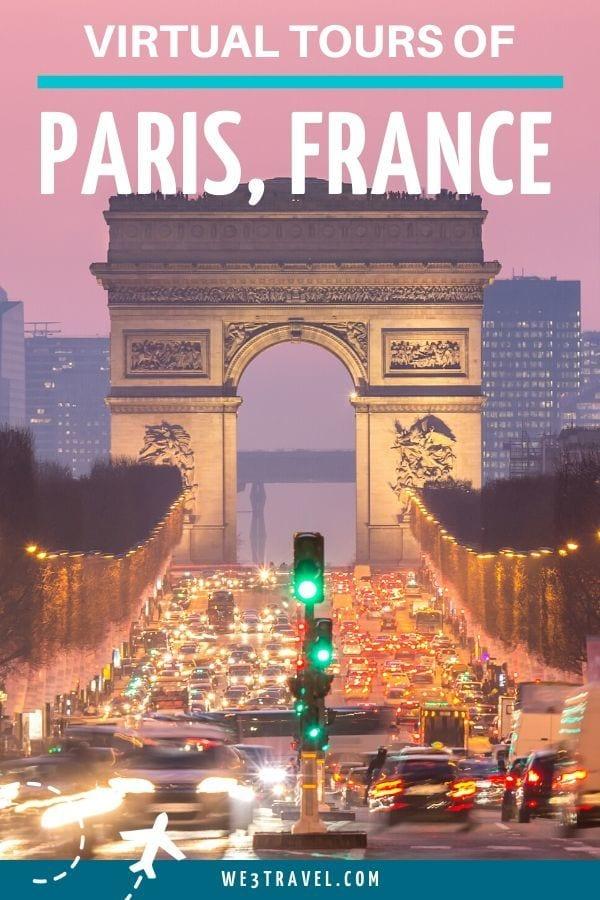 Virtual tours of Paris France