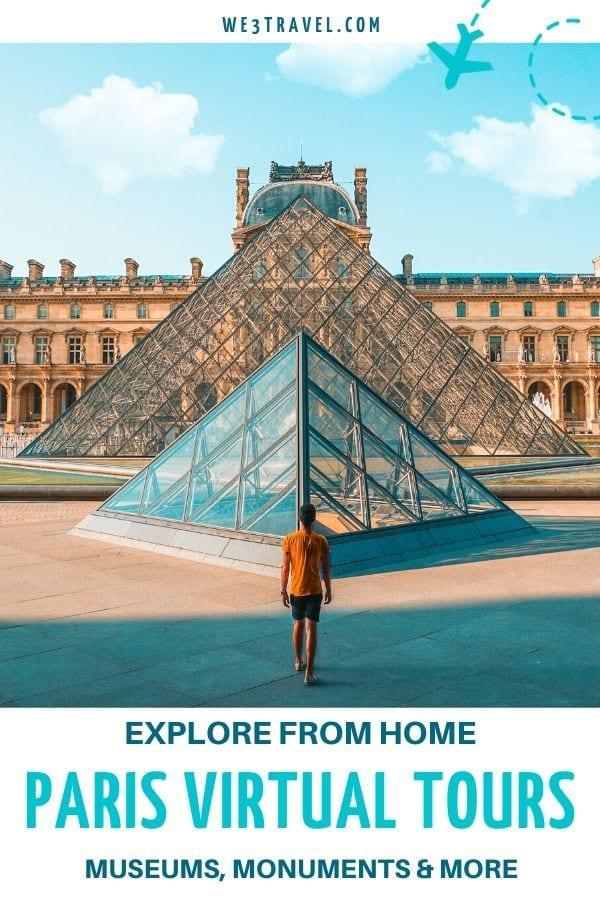 Explore from home Paris Virtual tours