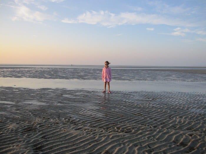 Skaket beach at low tide
