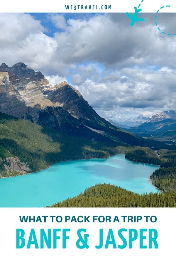 What to pack for a trip to Banff and Jasper