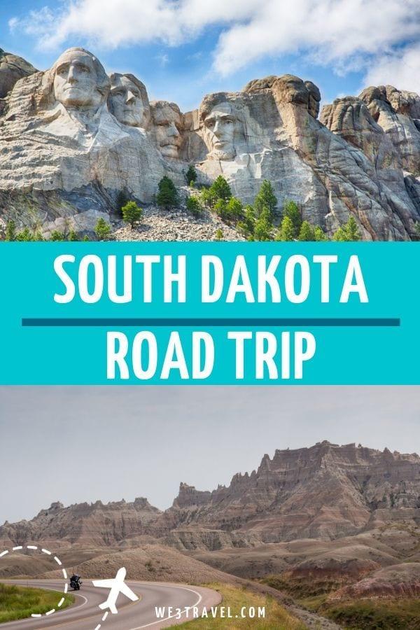 South Dakota road trip itinerary Mount Rushmore and Badlands
