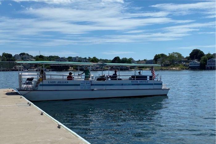 Water shuttle boat in Gloucester