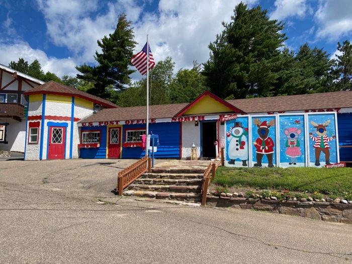 North Pole NY post office