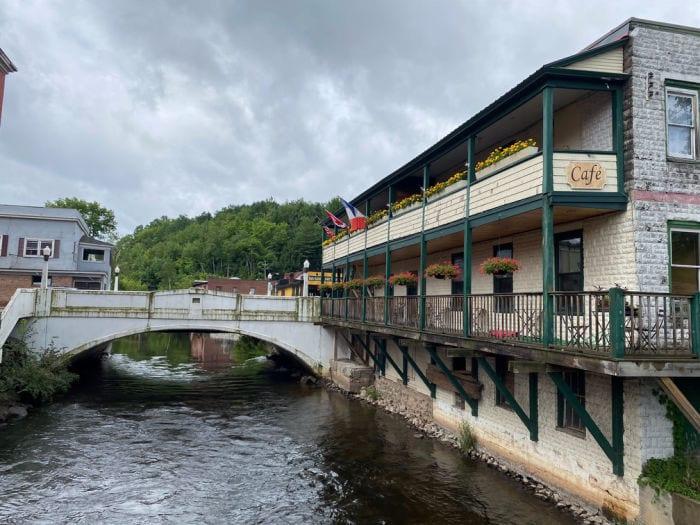 Saranac lake river cafe