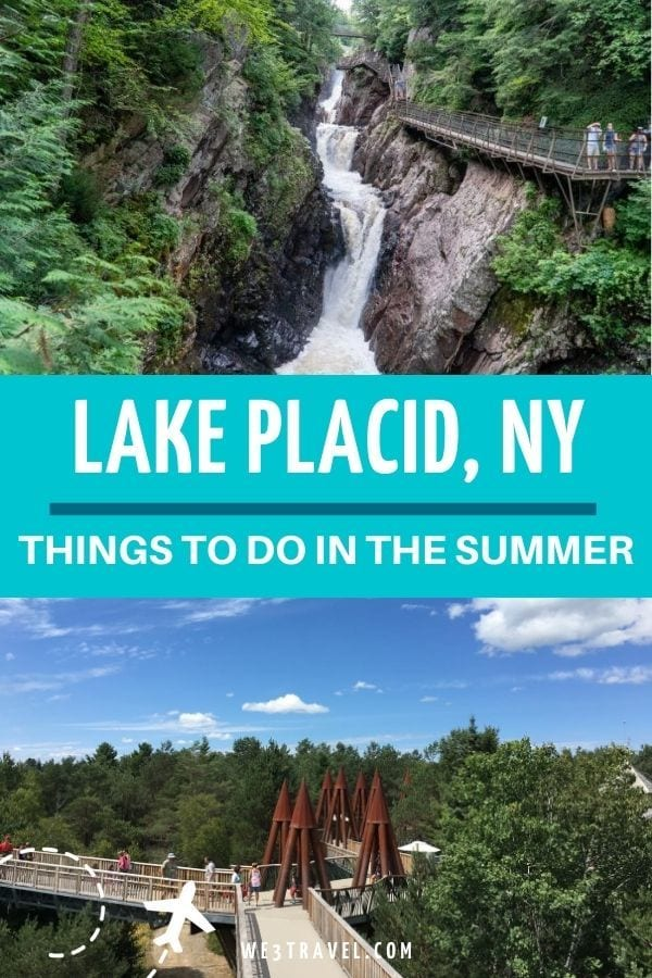 Lake Placid NY Things to do in the summer