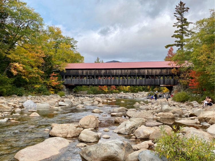 Albany Covered Bridge from the water