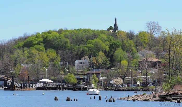 Beacon NY harbor