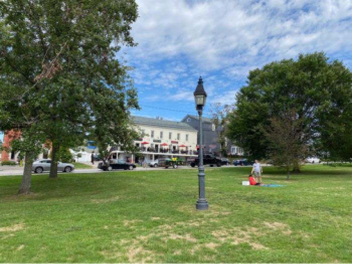 Litchfield CT town green