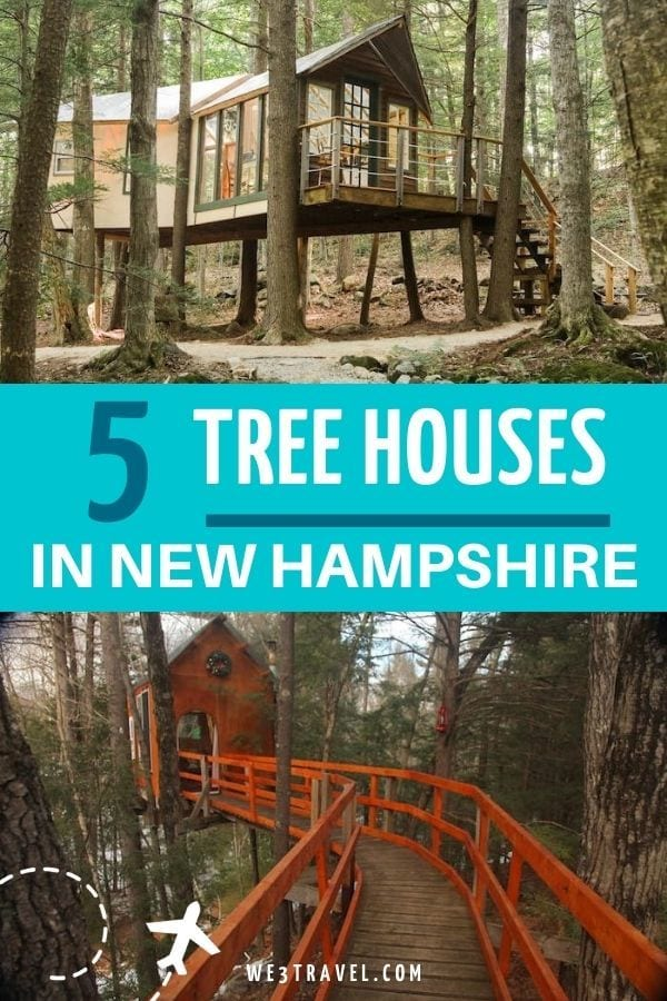5 tree houses in NH