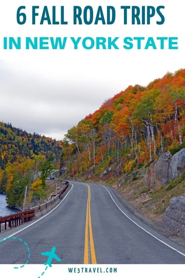 6 Fall road trips in New York State