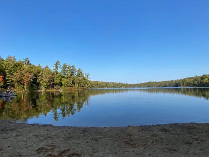 Lona Lake at Huttopia