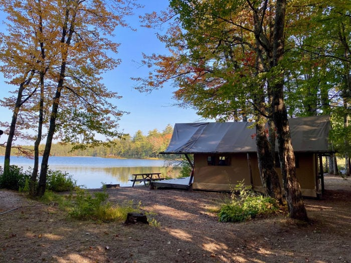 Lakefront Trapper Tent