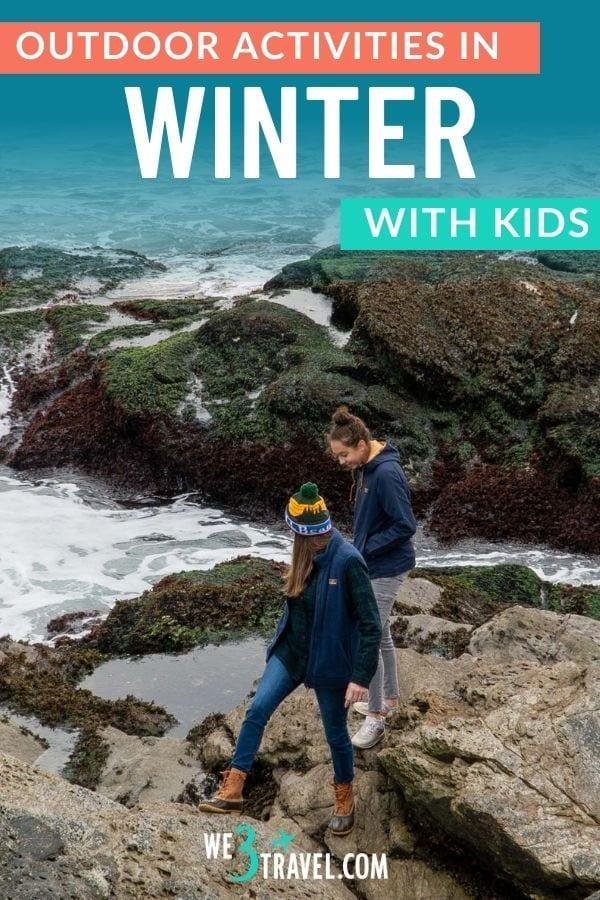 Outdoor winter activities with kids