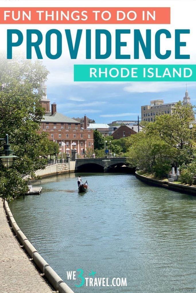 Fun things to do in Providence Rhode Island gondola on river