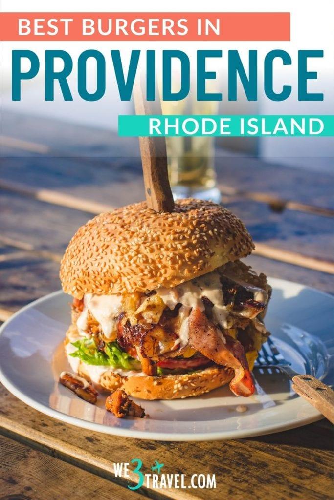 Best burgers in Providence Rhode Island