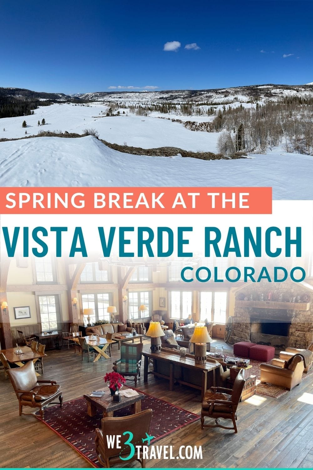 Have you thought about a dude ranch vacation for spring break? The Vista Verde Ranch in Steamboat Springs, Colorado is a luxury ranch with plentiful all-inclusive activities making it a perfect family vacation destination idea.