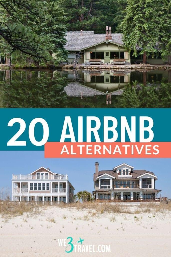 20 Airbnb alternatives