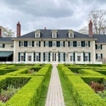 Hildene gardens and house