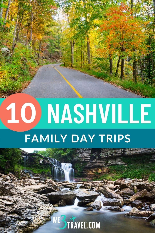 10 Nashville family day trips