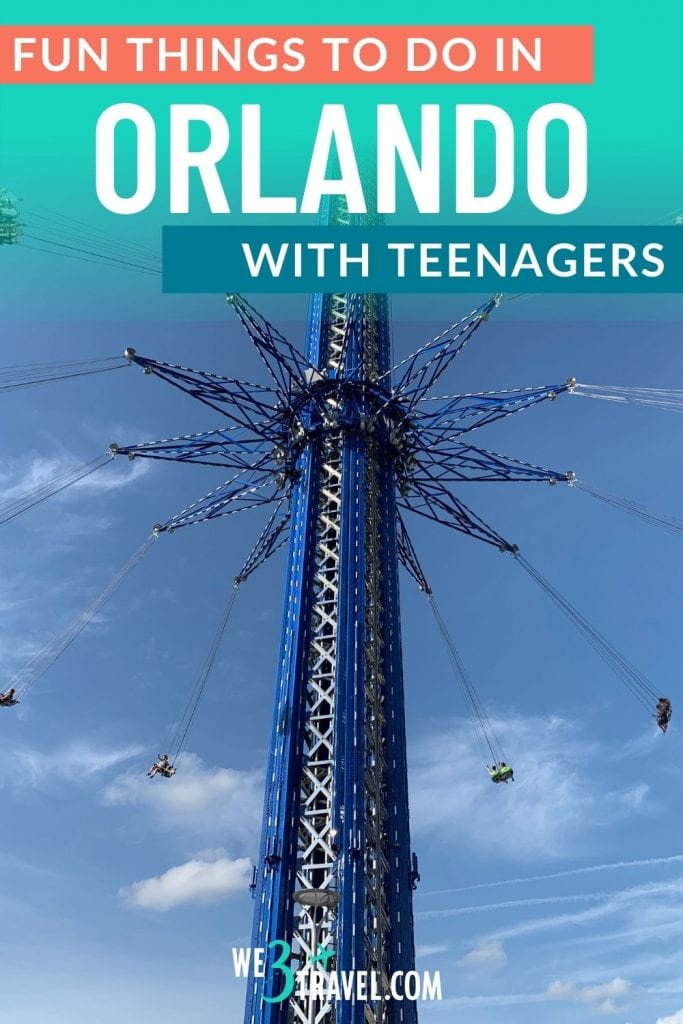 Fun things to do in Orlando with teenagers