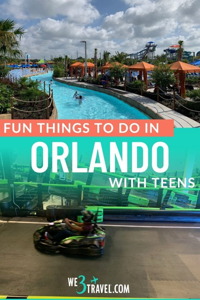 Fun things to do in Orlando with teens