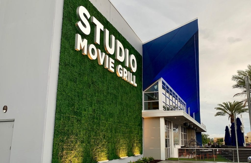 Studio Movie Grill entrance