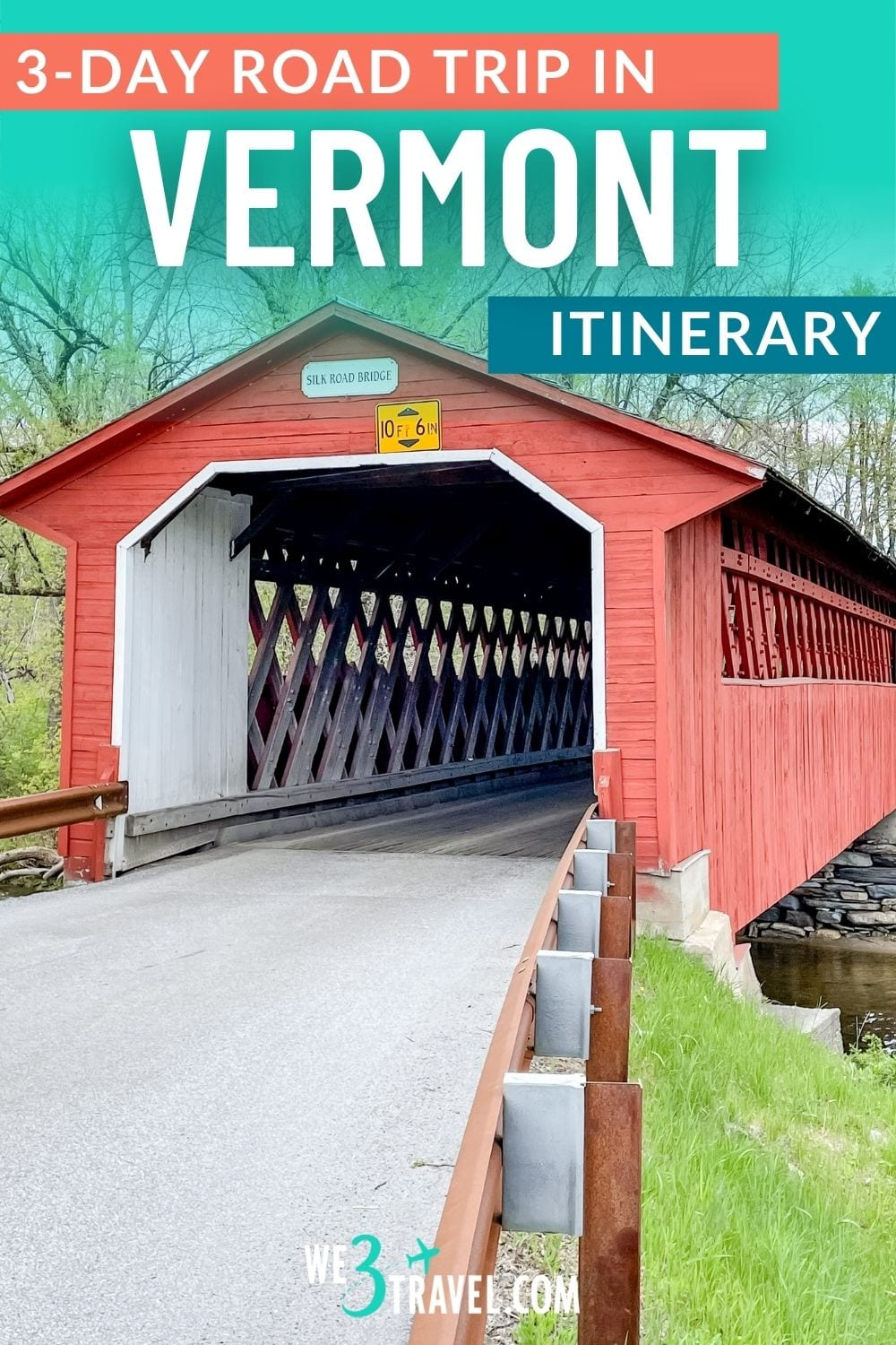 3-day Vermont road trip itinerary