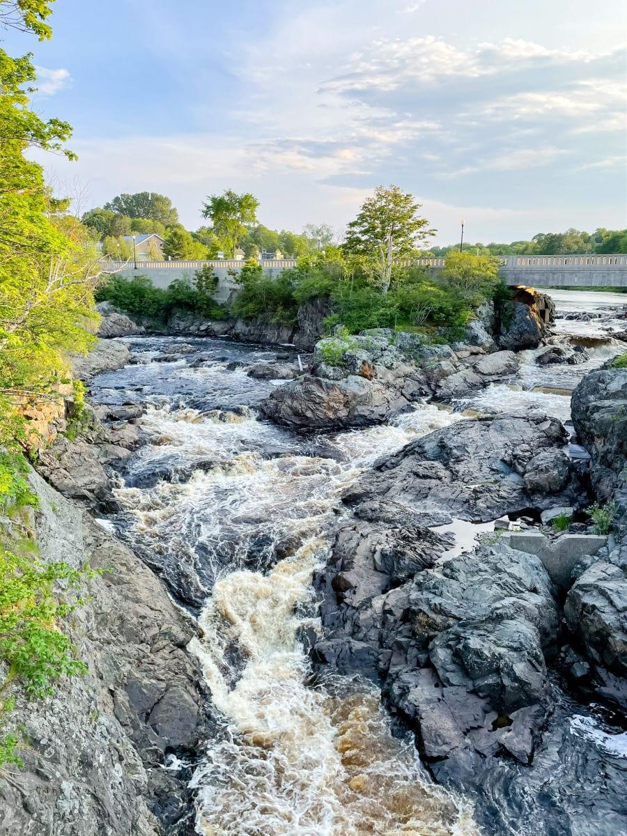 Bad Little Falls in Machias Maine