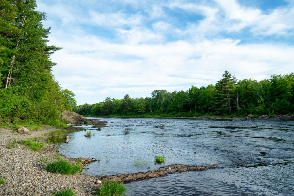 Eastern branch of the Penobscot River