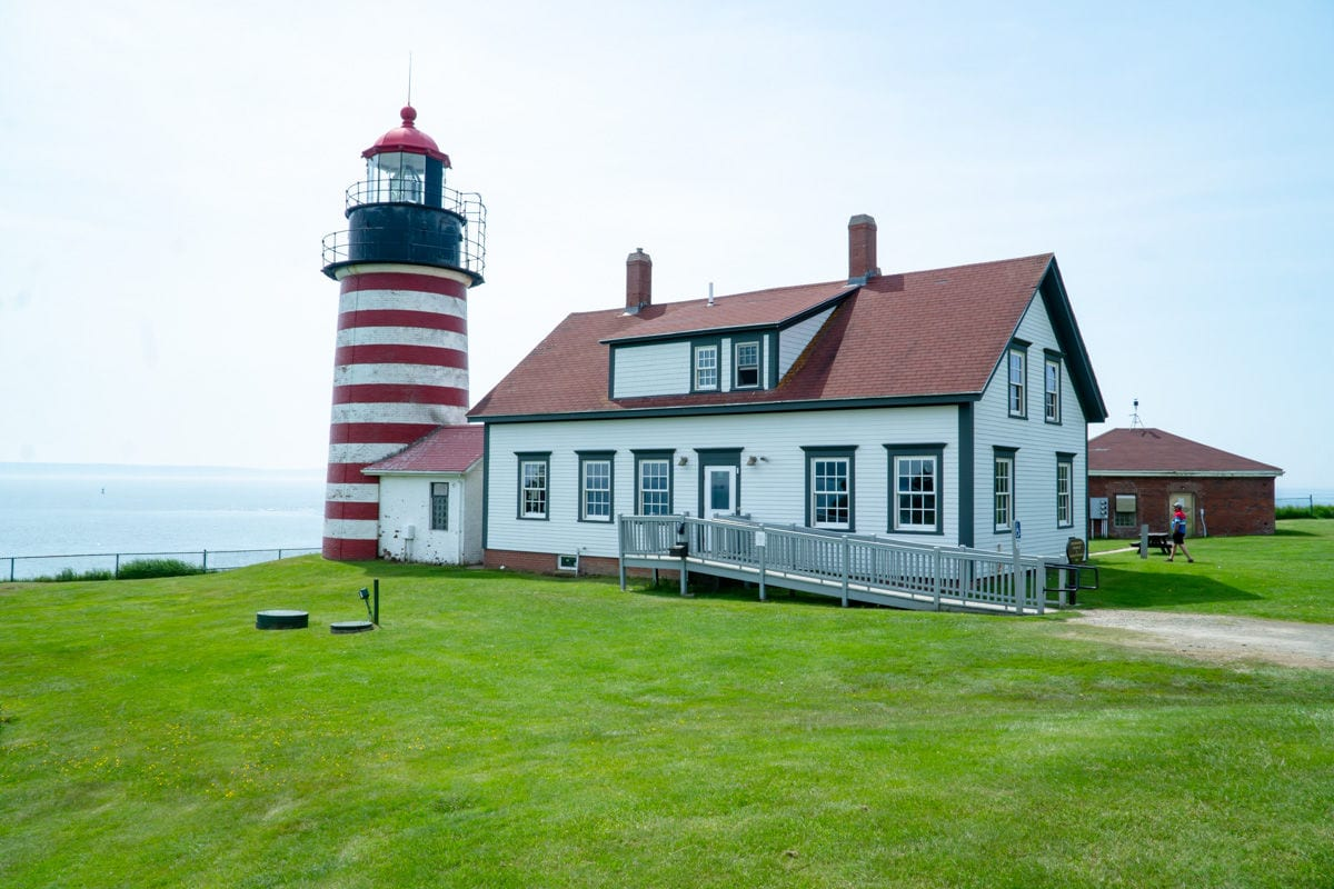 West Quoddy Lighthouse in Lubec