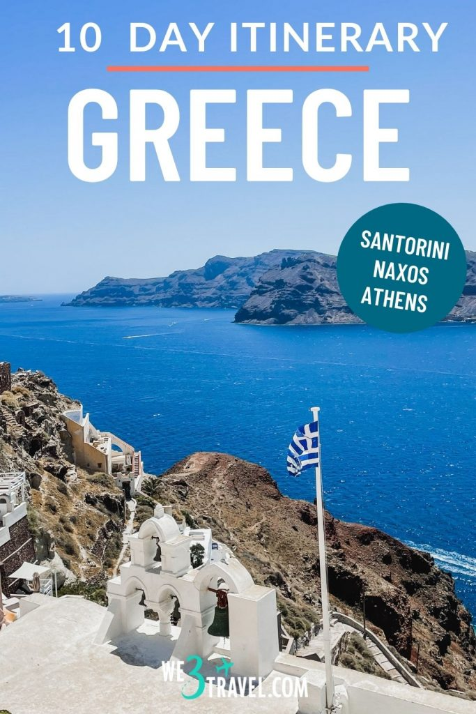 10 days itinerary for Greece