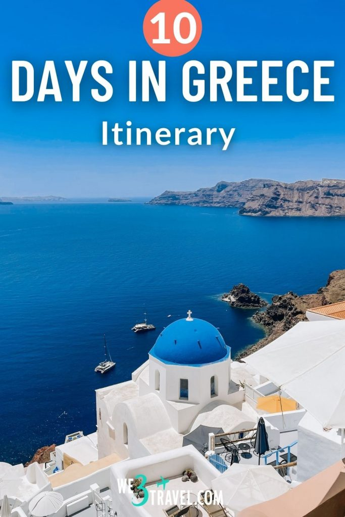 10 Days in Greece itinerary