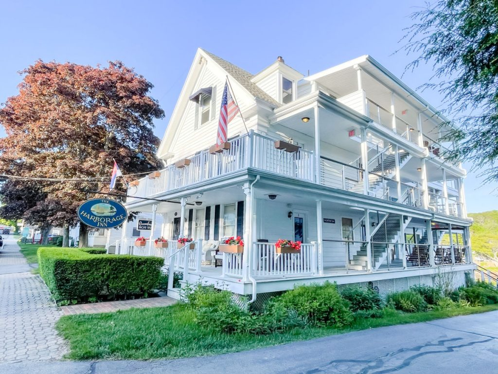 The Harborage Inn in Boothbay Harbor Maine